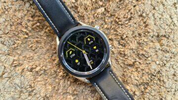 Samsung Galaxy Watch3 špalek žlutý ciferník
