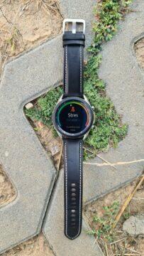 Samsung Galaxy Watch3 vertikální beton