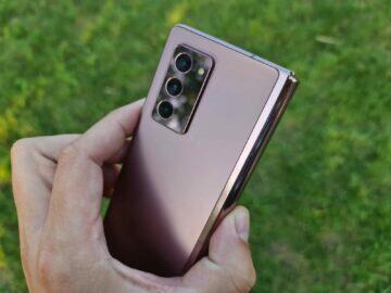 Samsung Galaxy Z Fold2 5G testování fotoaparáty