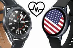 Samsung hodinky EKG USA