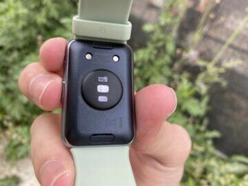 senzor srdečního tepu hodinky