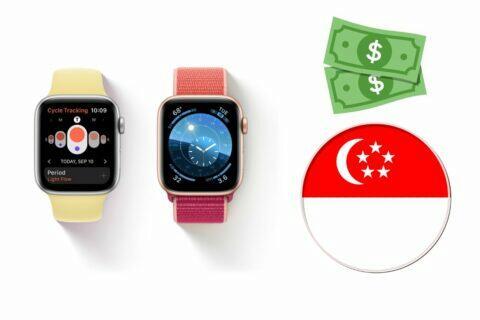 singapure apple watch