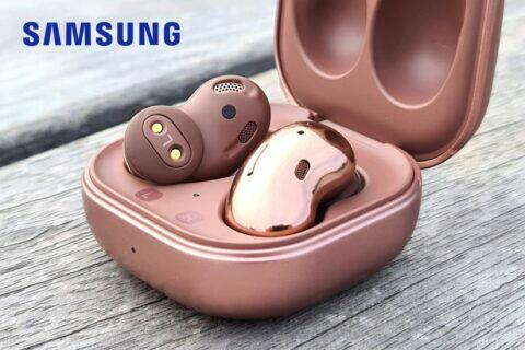 sluchátka Samsung Galaxy Buds Live recenze