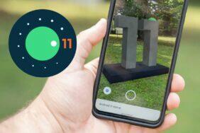 virtuální socha Android 11