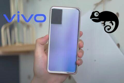vivo telefon mění barvu