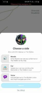 Waze hlasy Batmana a Hádankáře zvol si stranu