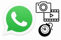WhatsApp mazání dočasných médií