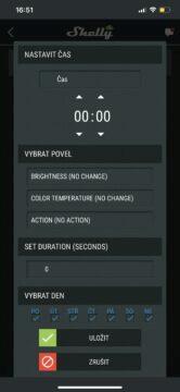 wi-fi žárovka aplikace