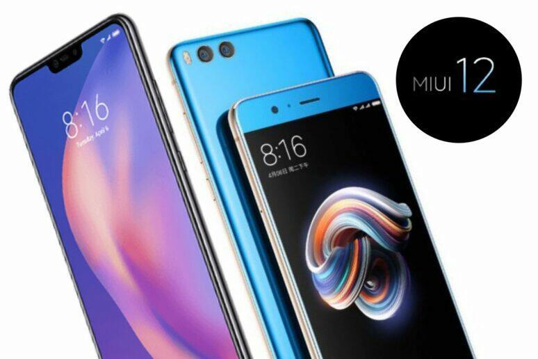 Xiaomi Mi Note 3 Mi 8 Lite MIUI 12