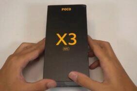 Xiaomi POCO X3 video