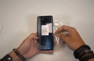Xiaomi POCO X3 video rozbalování