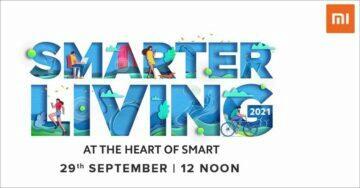 Xiaomi Smarter Living 2021 pozvánka