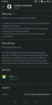 Zen Mode z Androidu 11
