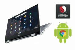 Acer chromebook Spin 513 český trh