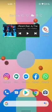 android 11 nahrávání obrazovky