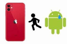 android prechod iphone