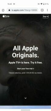 apple tv plus android