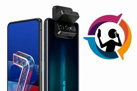 ASUS ZenFone 7 Pro selfie DxOMark