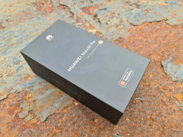 testování Huawei Mate 40 Pro balení