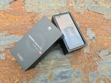 testování Huawei Mate 40 Pro balení telefon tapeta