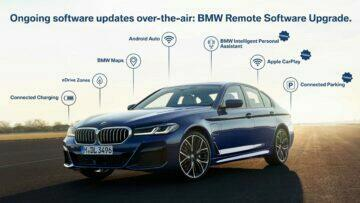 BMW Operating System 7 update Android Auto