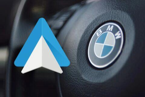 BMW podpora Android Auto