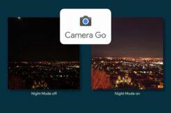 Camera Go noční fotografický režim