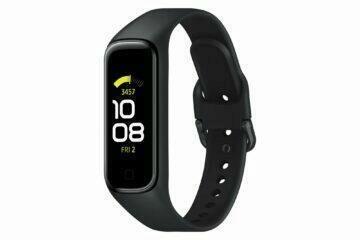 Samsung Galaxy Fit2 černá bok p