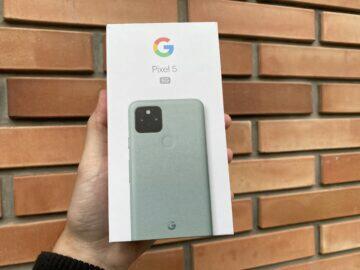 Do redakce dorazil Google Pixel 5 5G