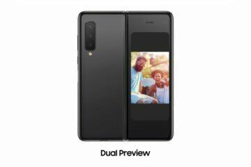 Galaxy Fold bezdrátový DeX Dual Preview