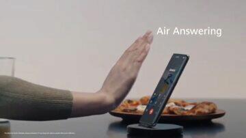 EMUI 11 zajímavé funkce bezdotyková gesta Air Answering
