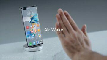 EMUI 11 zajímavé funkce bezdotyková gesta Air Wake
