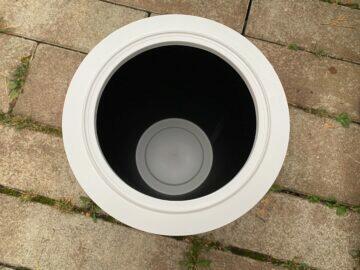 filtr detailní fotografie čistička vzduchu