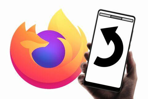 Firefox seznam nedávno zavřených karet