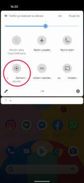 funkce nahrávání displeje android