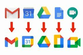 G suite Google Workspace prejmenovani