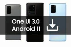 Galaxy S20 S20+ S20 Ultra Android 11 One UI 3.0 beta