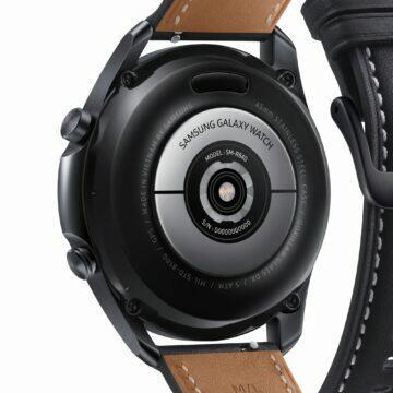 Galaxy Watch3 senzory