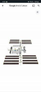 Google 20 let ISS 3D model náhled