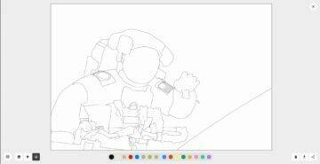 Google 20 let ISS omalovánky