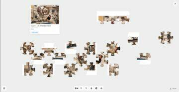 Google 20 let ISS puzzle