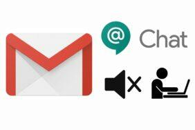 Google Chat Gmail statusu