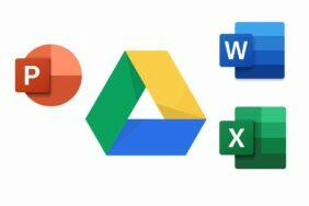 Google Disk otevírá MS Office