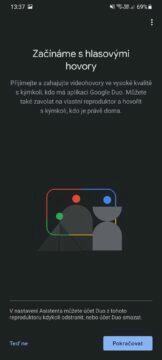 Google Home hlasové hovory Google Duo