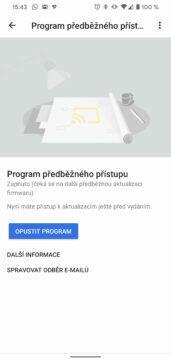 Google Home Hub program předbežného přístupu zpnutí