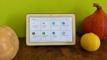 Google Home Hub update Discover aplikace