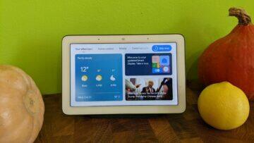 Google Home Hub update domovská obrazovka