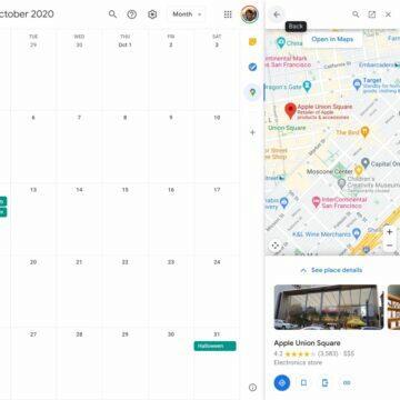 google kalendar mapa mista