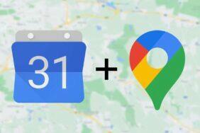 Google Kalendář mapy