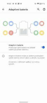 google pixel 4a baterie